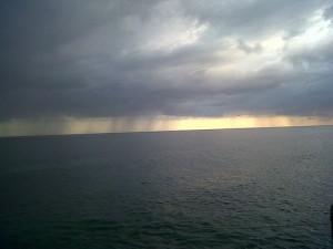 regatas con lluvia
